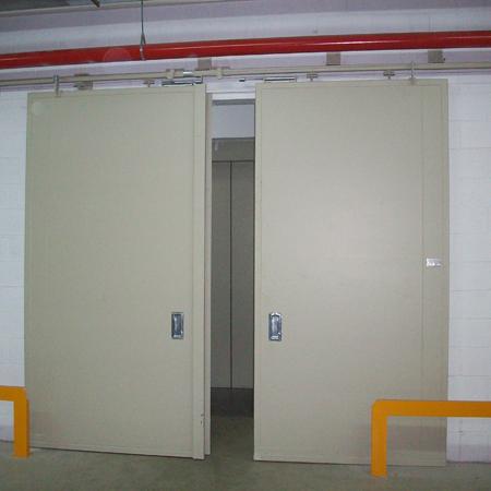Proind puertas met licas automatismos barcelona - Puerta corredera industrial ...